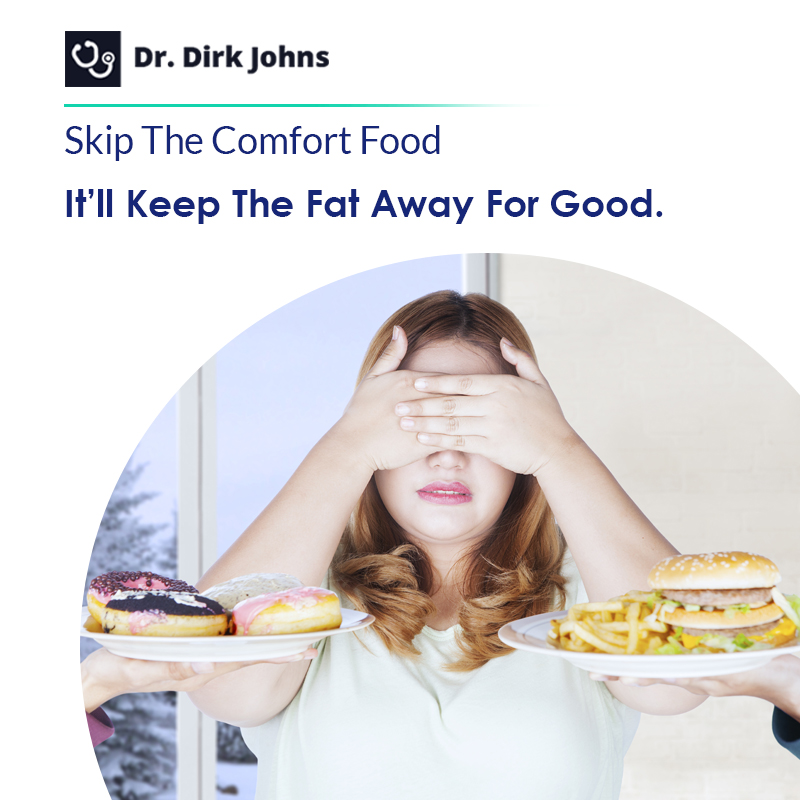 avoid eating junk food and consider eating more proteins and carbs