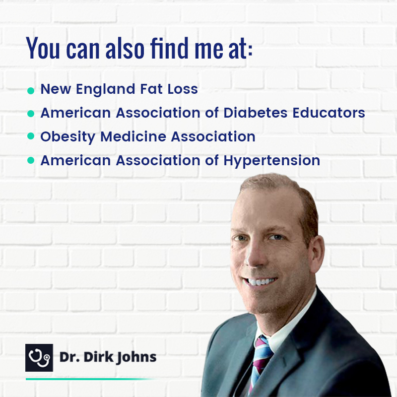 Dr. Dirk Johns will help you achieve your weight loss goal