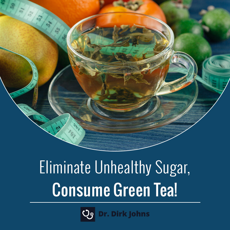 Green tea is a good substitute for energy drinks - weight loss tips