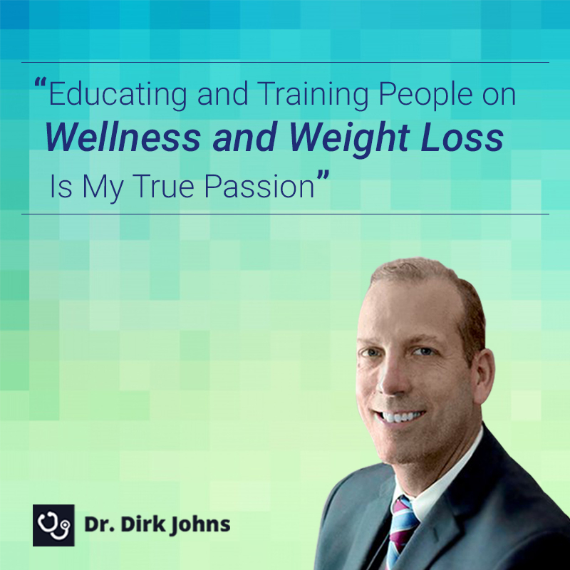 When you're consulting Dr. Dirk Johns for #weightloss, you're in the hands of a proven expert.