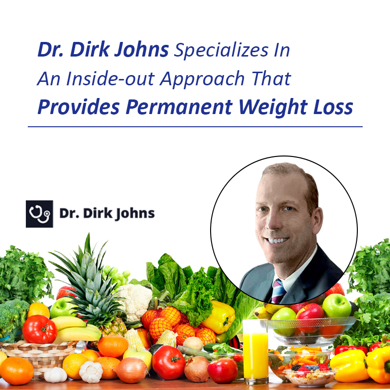 Dr. Dirk Johns takes an inside-out approach to correcting and balancing metabolism